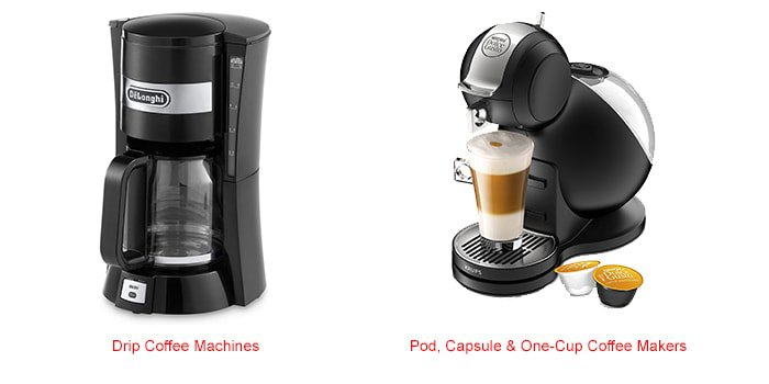 Types of coffee machines