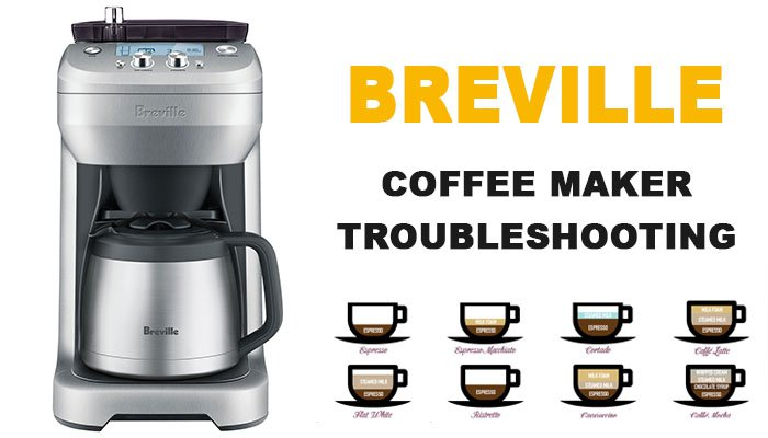 Breville coffee maker troubleshooting