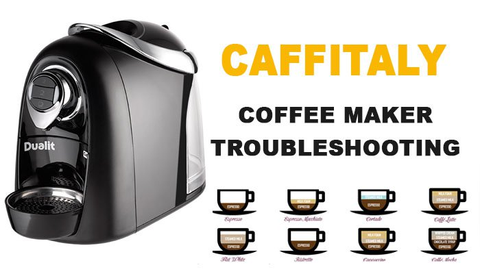 Caffitaly coffee maker troubleshooting