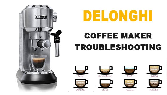 Delonghi coffee maker troubleshooting