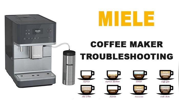 Miele coffee maker troubleshooting