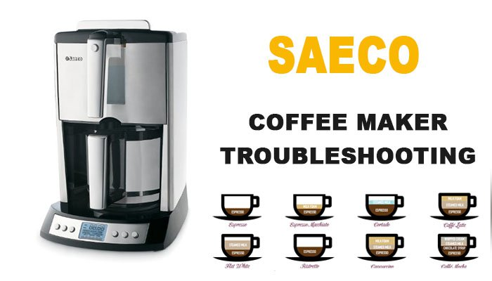 Saeco coffee maker troubleshooting