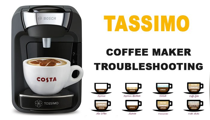 Tassimo coffee maker troubleshooting
