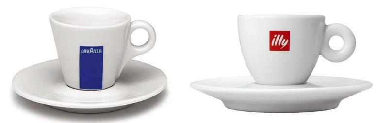 Italian espresso cups