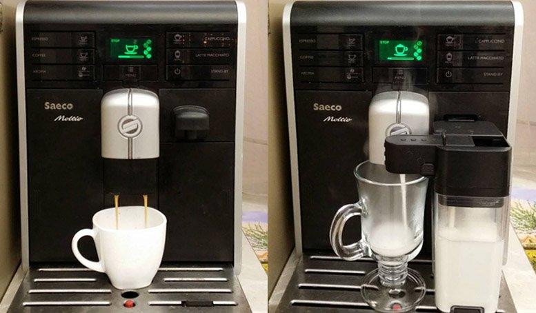 espresso cappuccino Saeco