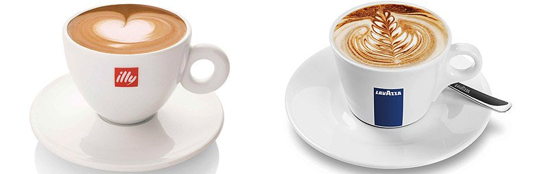 italian cappuccino cups and saucers
