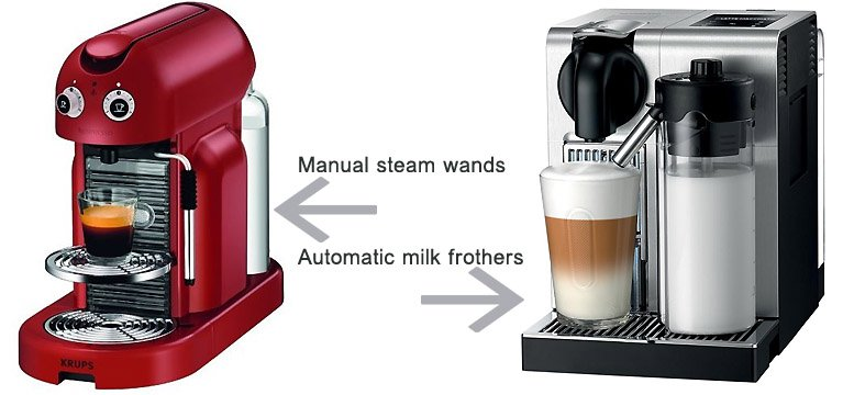 manual or automatic milk supply system