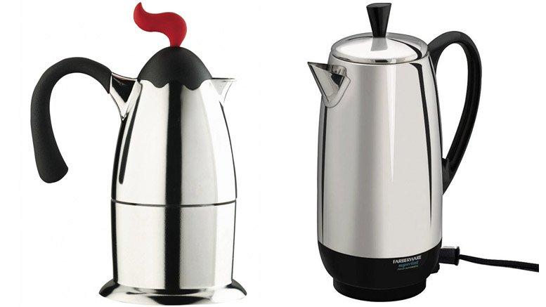 coffee pot percolators