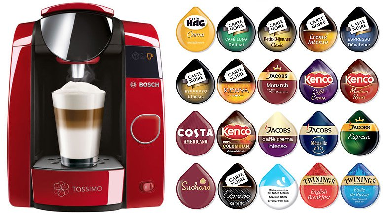 Tassimo single serve coffee and espresso machine