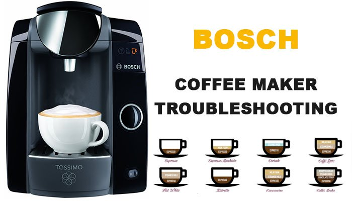 Bosch coffee maker troubleshooting