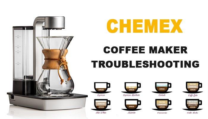 Chemex coffee maker troubleshooting