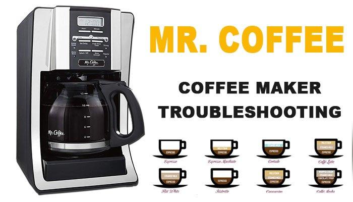 Mr. Coffee Coffee Maker troubleshooting