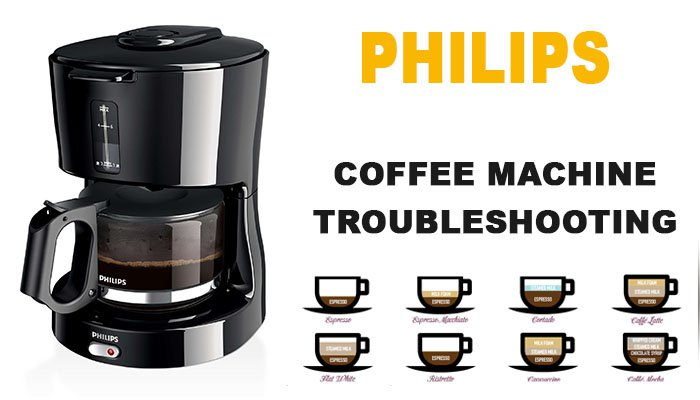Philips coffee machine troubleshooting