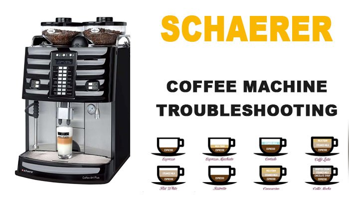 Schaerer coffee machine troubleshooting