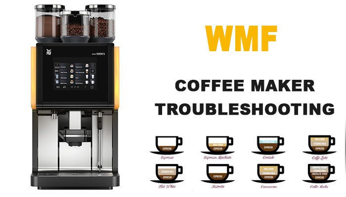 WMF coffee maker troubleshooting