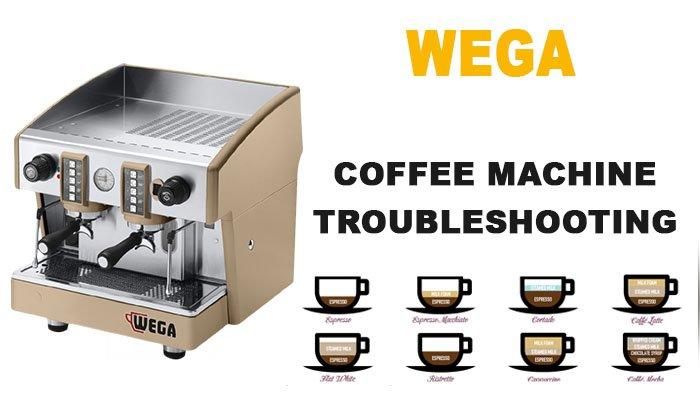 Wega espresso coffee machine troubleshooting
