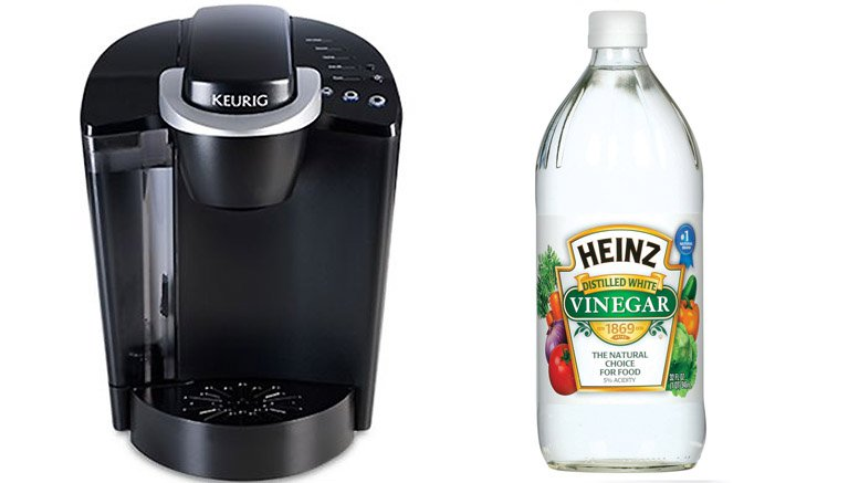 keurig coffee machine cleaning