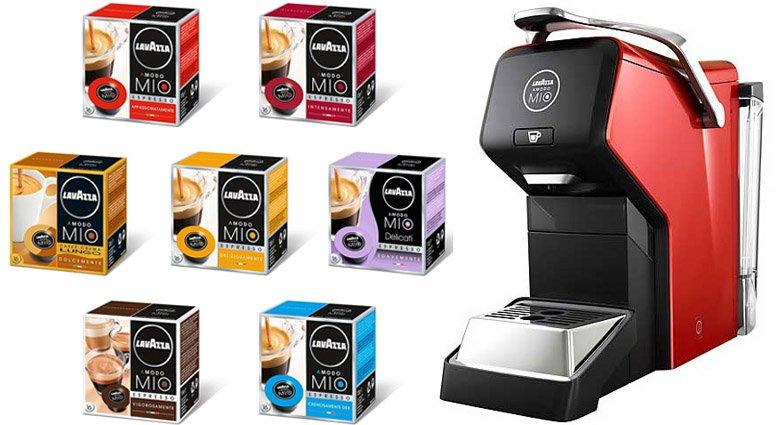 A Modo Mio lavazza coffee machine
