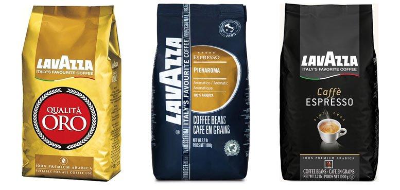 Caffe-Espresso Pienaroma and Oro