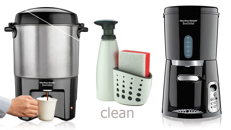 Hamilton Beach clean coffee maker