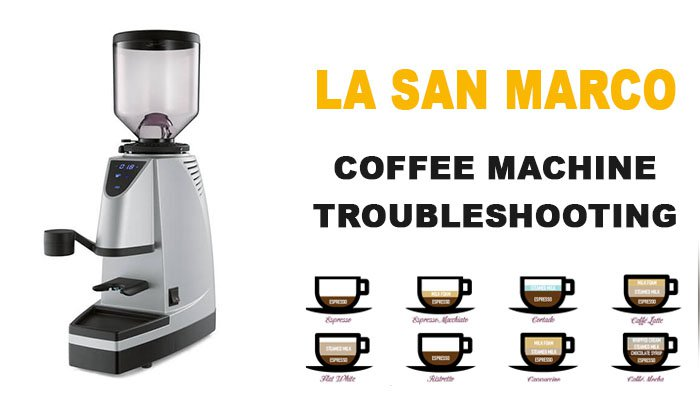 La San Marco coffee machine troubleshooting