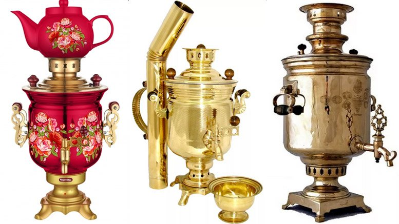 Russian coffee urn
