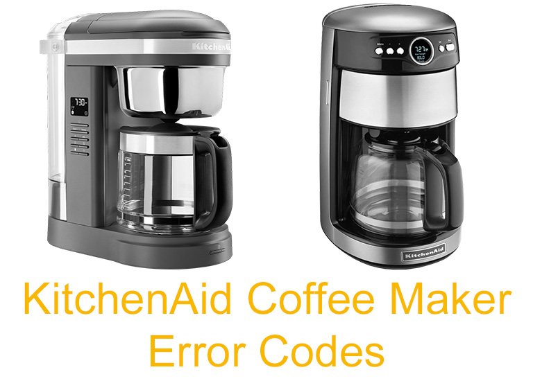 KitchenAid Coffee Maker Error Codes