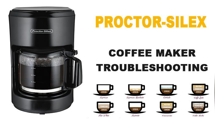 Proctor-silex coffee maker troubleshooting