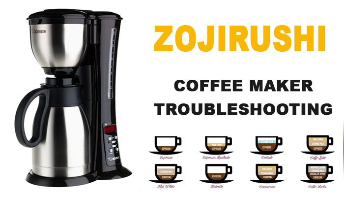 Zojirushi coffee maker troubleshooting