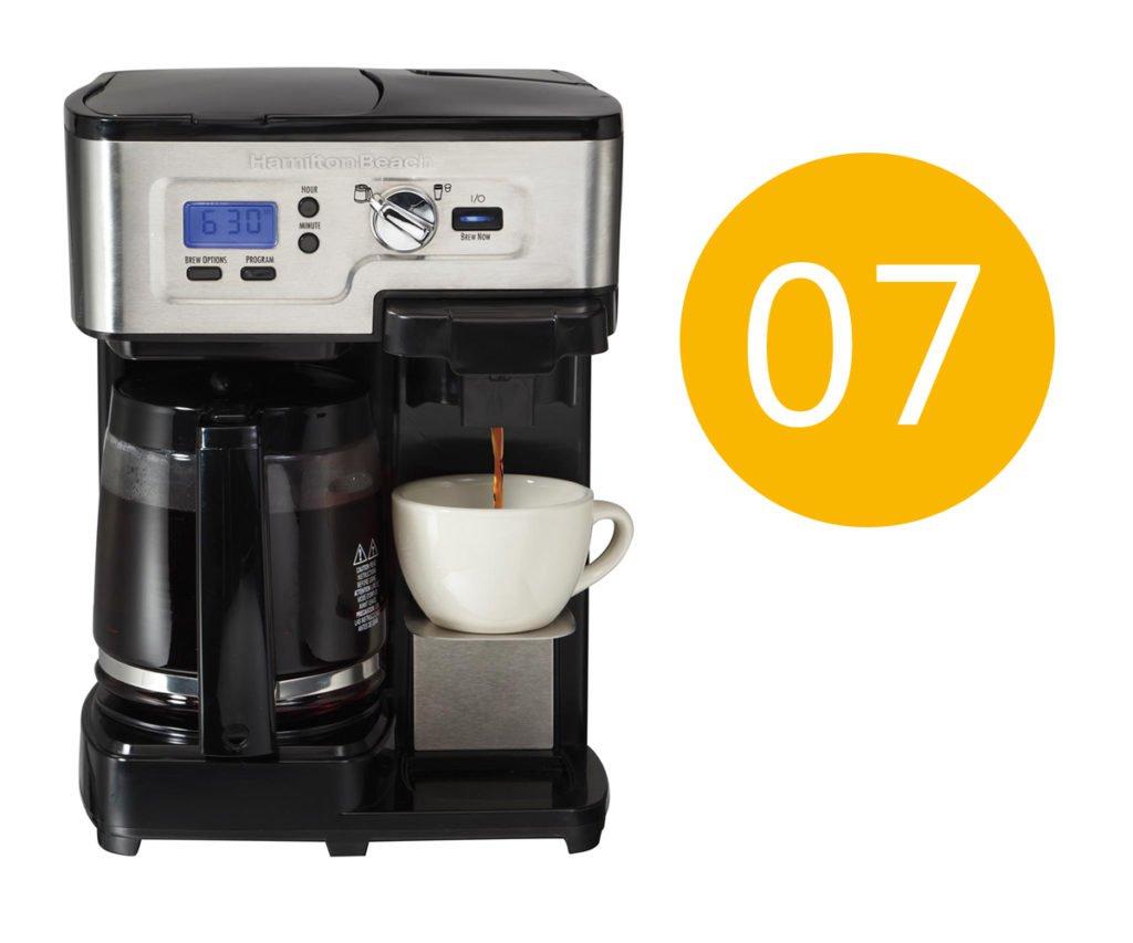 Hamilton beach coffee maker error code 07