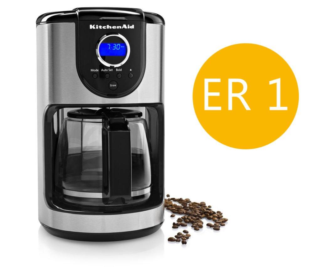 Kitchenaid coffee maker error code er 1