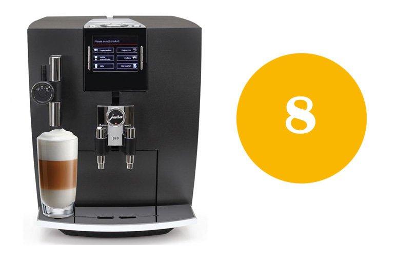 Jura coffee machine error 8