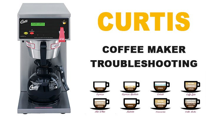 Curtis coffee maker troubleshooting