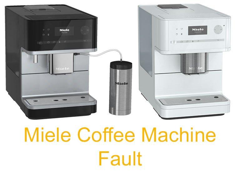 Miele Coffee Machine Fault