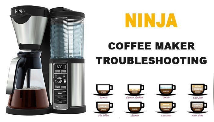 Ninja Coffee Maker Troubleshooting Ninja Is Not Working Not Brewing