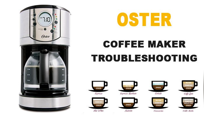 Oster coffee maker troubleshooting