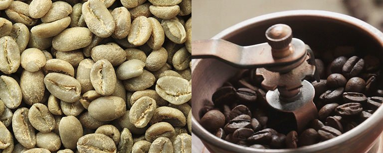 Using old coffee beans