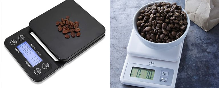 kitchen scale coffee